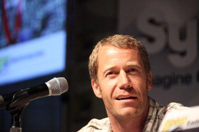 Колин Фергесон на Comic-Con 2010