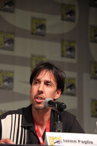 Джейми Паглиа на Comic-Con 2010