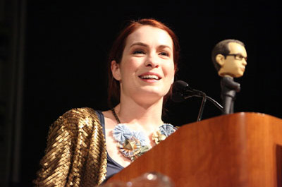 Фелиция Дей на Comic-Con 2010