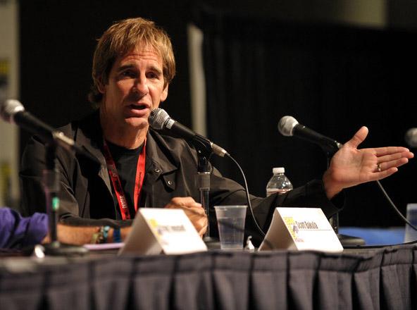 Скотт Бакула на Comic-Con 2010