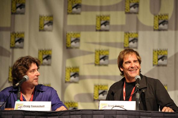 Продюсер Квантового Скачка и Скотт Бакула на Comic-Con 2010