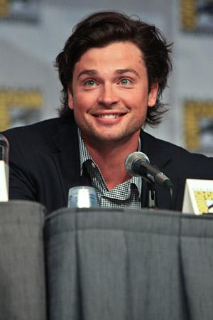 Том Веллинг на Comic-Con 2010