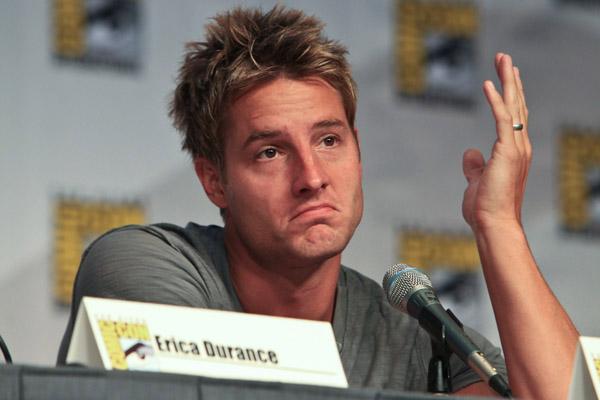 Джастин Хартли на Comic-Con 2010
