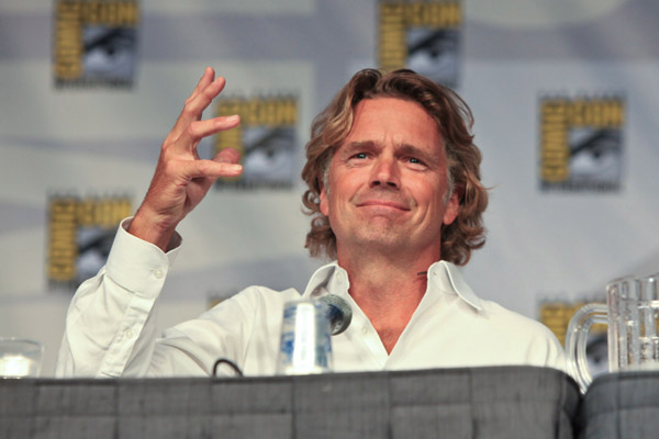 Джон Шнайдер на Comic-Con 2010