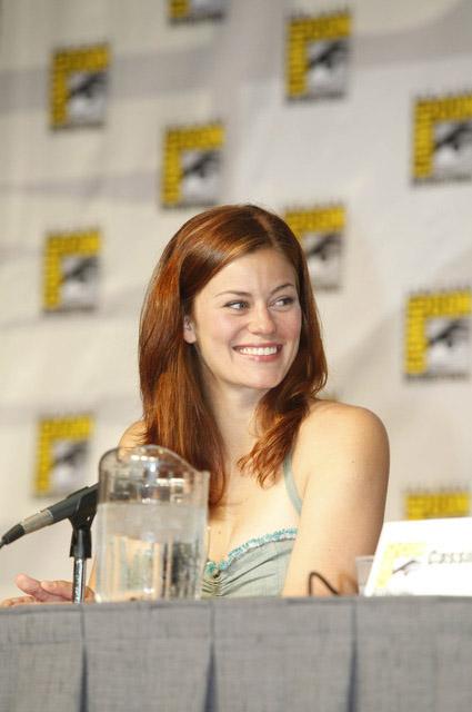 Кэссиди Фримен на Comic-Con 2010