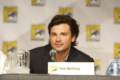 Том Веллинг (Смолвиль) на Comic-Con 2010
