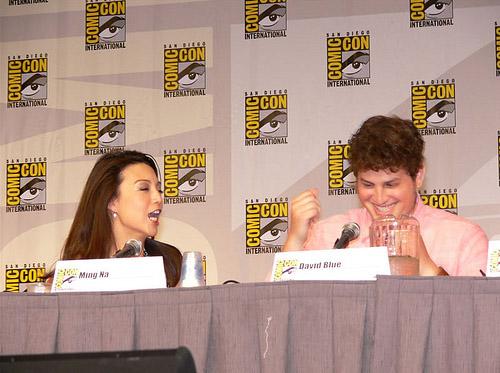 Минг-На, Дэвид Блу на Comic-Con 2010
