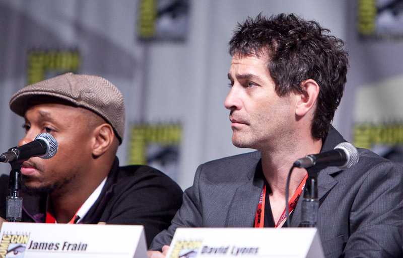 The Cape: Джеймс Фрейн на Comic-Con 2010