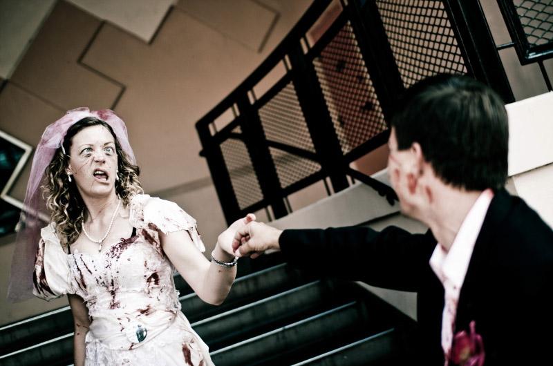 Пара зомби на Comic-Con 2010