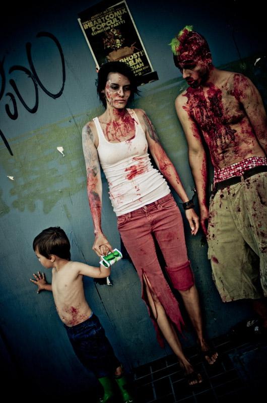 Зомби семья на Comic-Con 2010