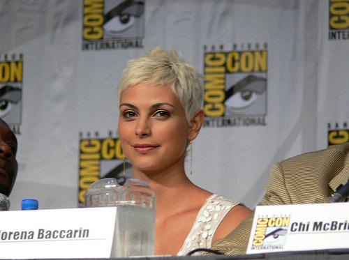 Морена Баккарин на Comic-Con 2010
