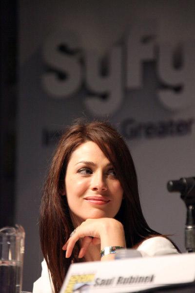 Джоанн Келли на Comic-Con 2010