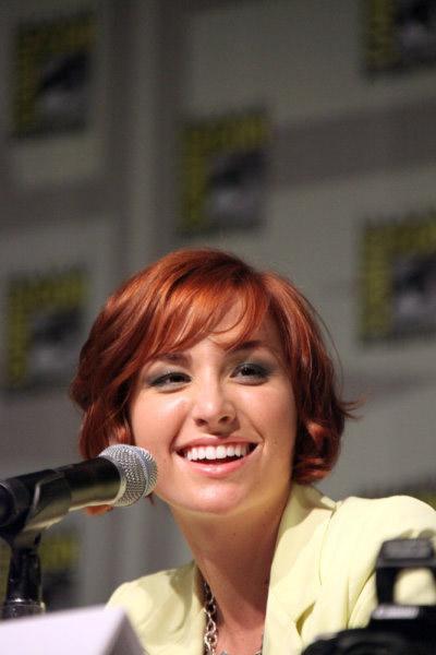 Эллисон Скальотти на Comic-Con 2010