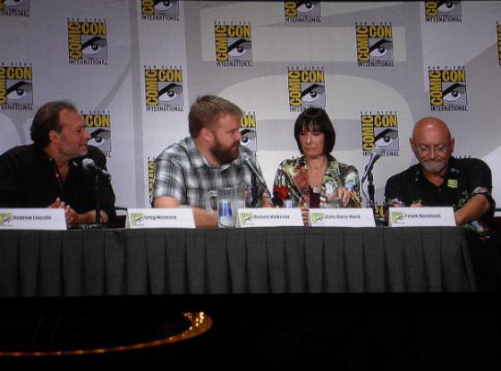 Ходячие Мертвецы на Comic-Con 2011
