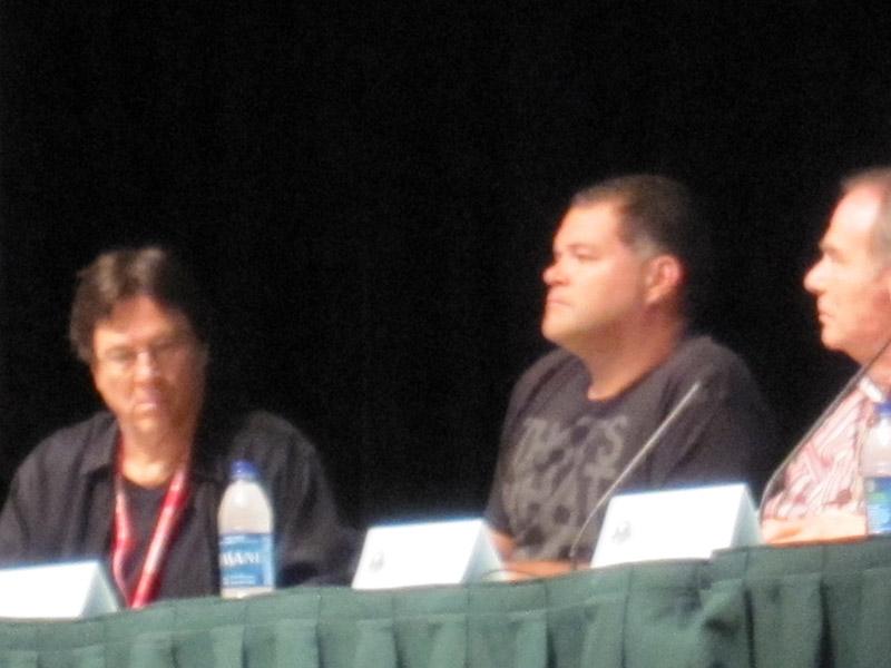 Ричард Хэтч, Аарон Дуглас, Дин Стоквелл на Dragon-Con 2010