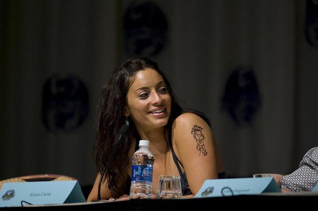 Эрика Серра на Dragon-Con 2010