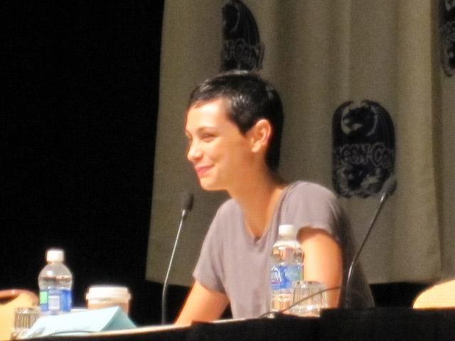 Морена Баккарин на Dragon-Con 2010