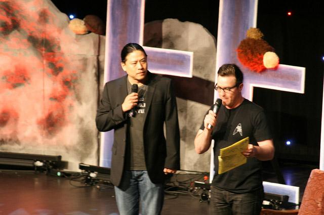 Конвенция FedCon 2011 - Гарретт Вонг, Пол МакГиллон