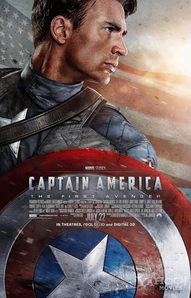 Капитан Америка: Первый Мститель постер