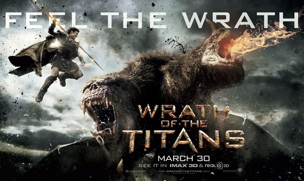 Гнев Титанов - постер