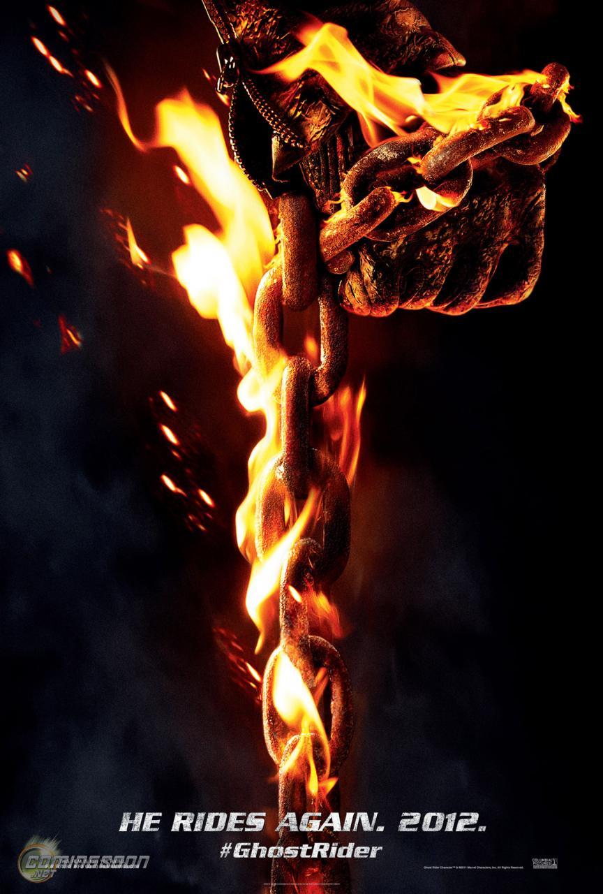 Призрачный Гонщик 2 - постер