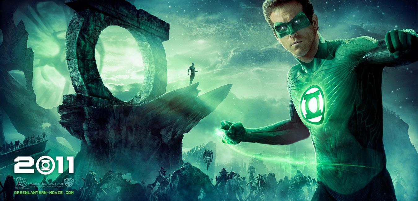 Постер к Зеленому Фонарю