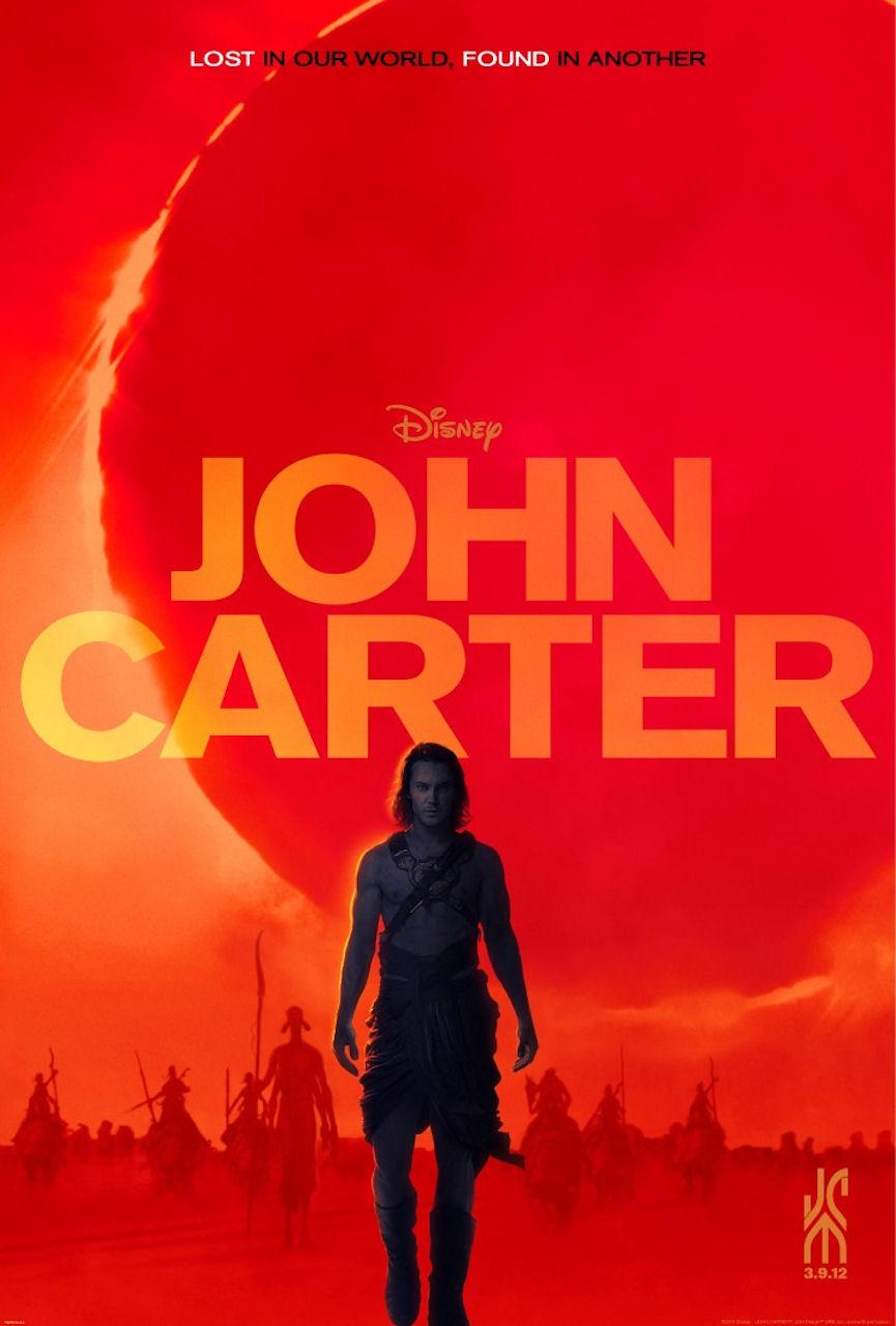Джон Картер с Марса - постер
