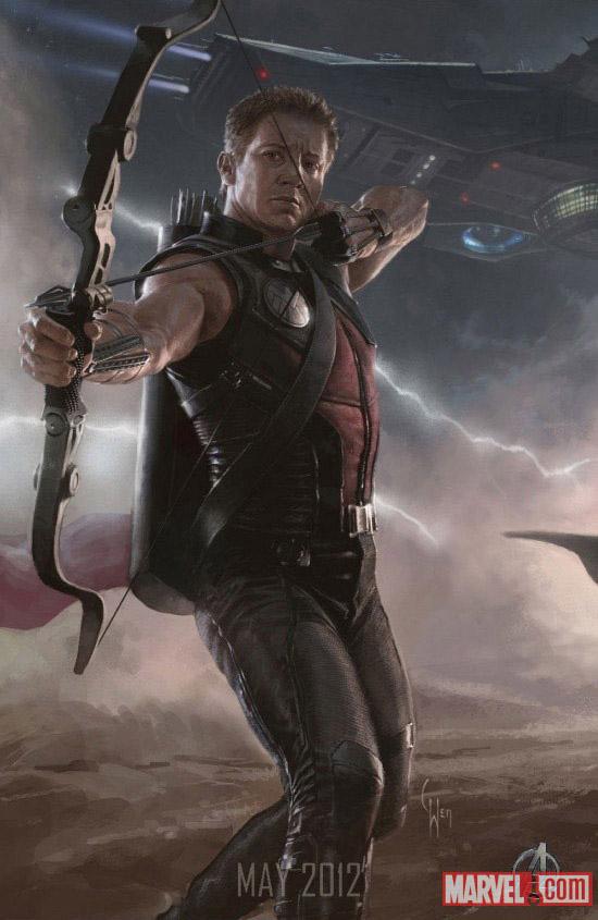 Постер к Мстителям - Хоукай