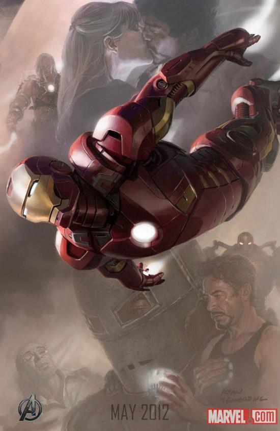 Постер к Мстителям - Железный Человек