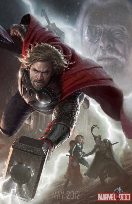 Постер к Мстителям - Тор