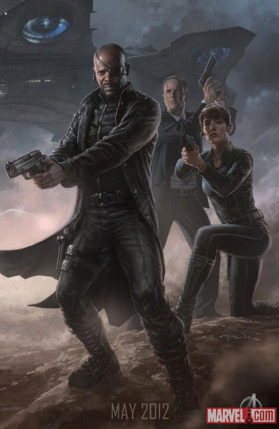 Постер к Мстителям - Ник Фьюри
