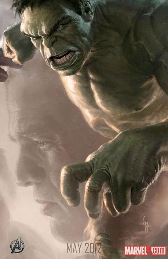 Постер к Мстителям - Халк