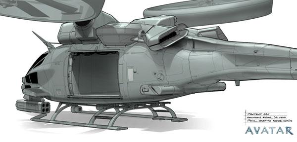 Вертолеты в Аватаре