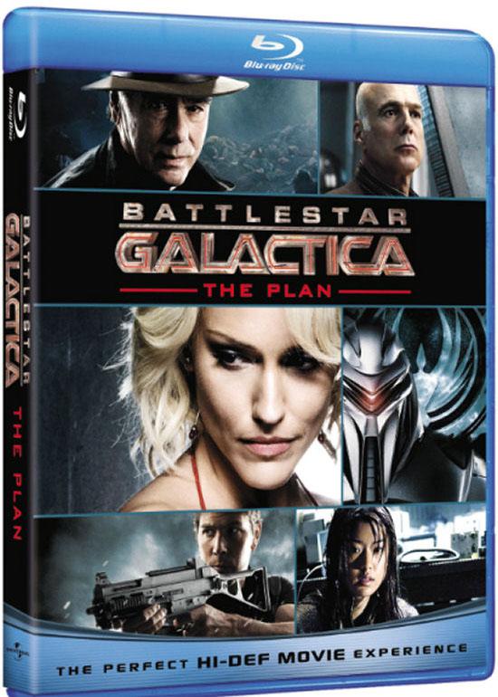 Звездный Крейсер Галактика: План на Blu-ray