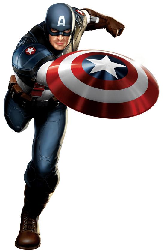 Капитан Америка концепт-арт