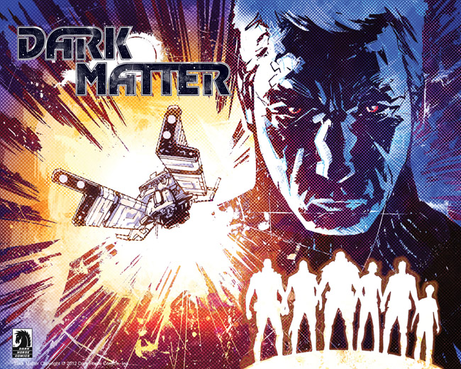 Dark Matter комикс