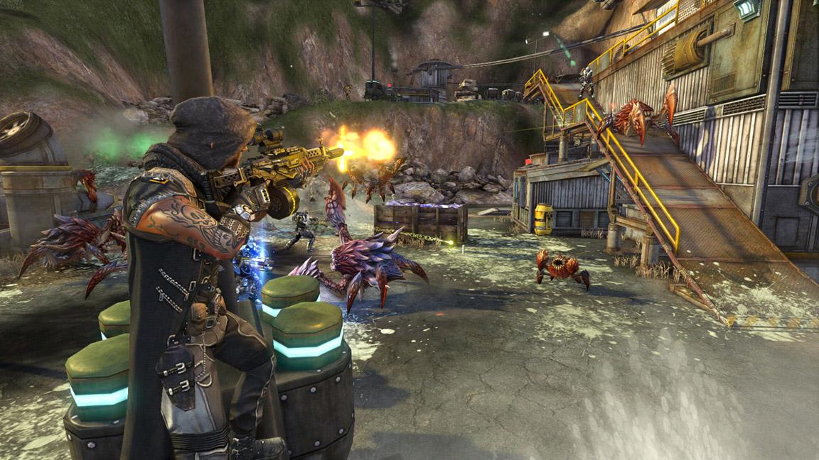 Скриншот из игры Defiance