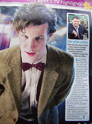 Doctor Who, who rules