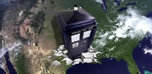 Доктор Кто отправляется в США