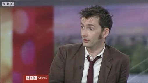Дэвид Теннант на BBC
