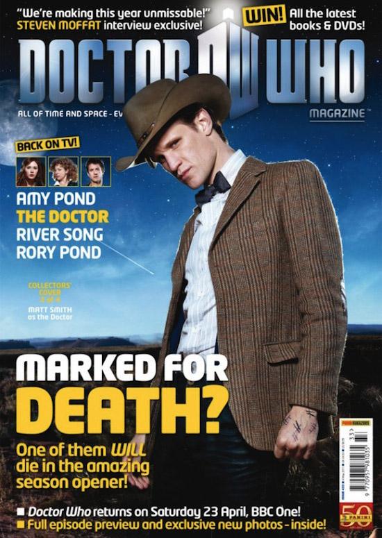 Обложка журнала Doctor Who Magazine