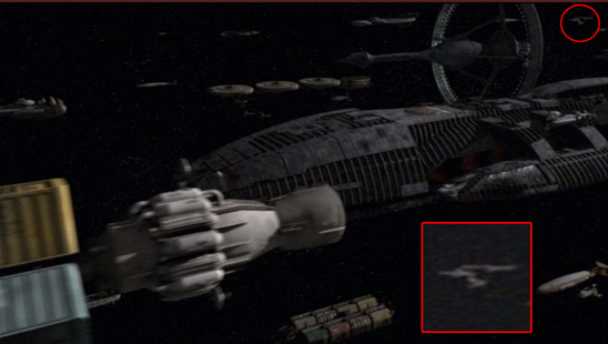 Энтерпрайз в финале Звездного Крейсера Галактика