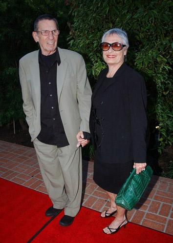 Леонард Нимой с женой