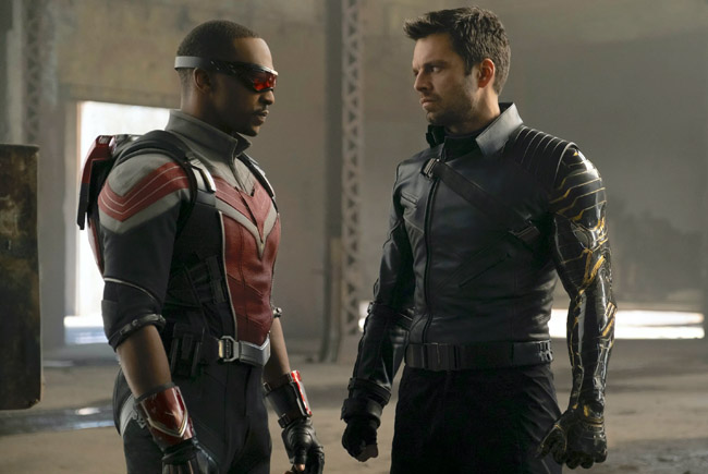 Marvel's The Falcon and the Winter Soldier на Disney