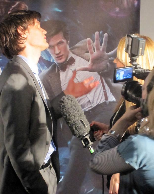 Мэтт Смит на интервью
