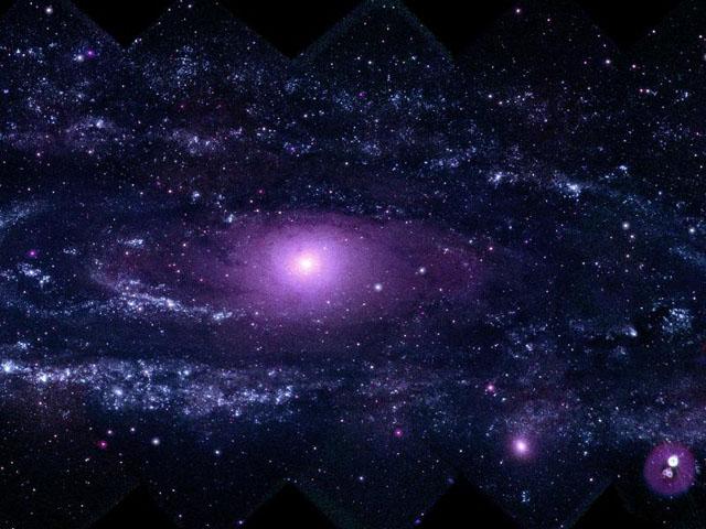 Фотография галактики Андромеда