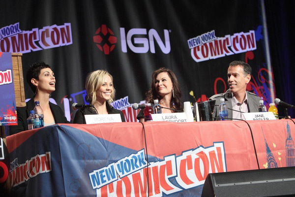 Визитеры на New York Comic Con 2010