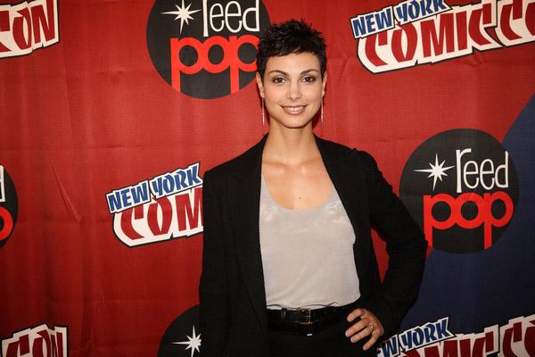 Морена Баккарин на New York Comic-Con 2010