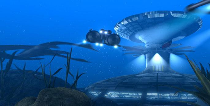 Будущий город в Проекте Venus