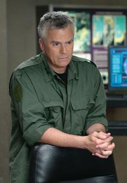 Ричард Дин Андерсон в десятом сезоне Звездных Врат SG-1